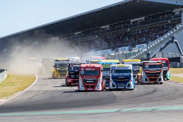 34. Int. ADAC Truck-Grand-Prix und die WORLD OF HEROES